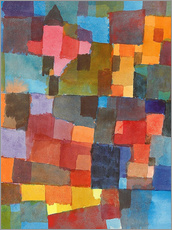 Gallery print  Room Architectures - Paul Klee