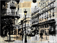Gallery print  French quarter - Loui Jover