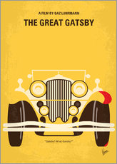 Muursticker  The Great Gatsby - chungkong
