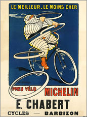 Gallery print  Bicycle tires Michelin - H.L. Roowy