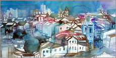 Gallery print  Brazil, Salvador Bahia, views of Igreja e Convento do Carmo - Johann Pickl