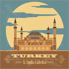 Gallery print  Turkey - Hagia Sophia