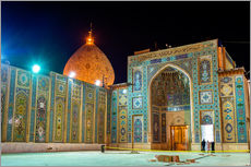 Gallery print  Shah Cheragh, a funerary monument and mosque in Shiraz, Iran
