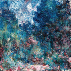 PVC print  The house of the artist - Claude Monet