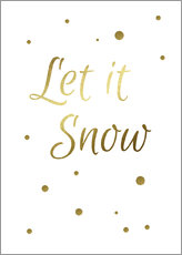 Gallery print  Let It Snow - Let it Snow - Finlay and Noa
