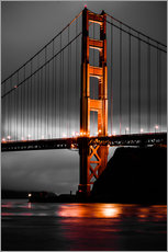 Gallery print  Golden Gate - Denis Feiner