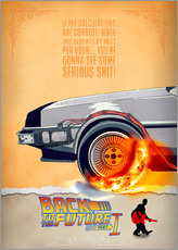 Gallery print  Back to the Future - HDMI2K