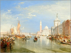 Gallery print  Venice, The Dogana and San Giorgio Maggiore - Joseph Mallord William Turner