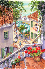 Muursticker  Harbour Steps - Paul Simmons