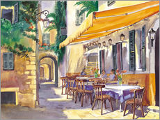 Gallery print  Provence Cafe - Paul Simmons