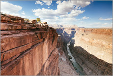 Gallery print  Sunset over the Colorado river, Grand Canyon, USA - Matteo Colombo