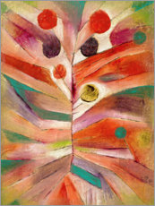 Canvas print  Verenplant - Paul Klee