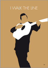 Gallery print  Johnny Cash - I Walk The Line - chungkong