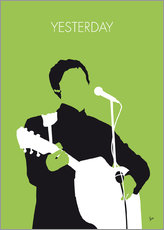 Muursticker  MY PAUL MCCARTNEY Minimal Music poster - chungkong