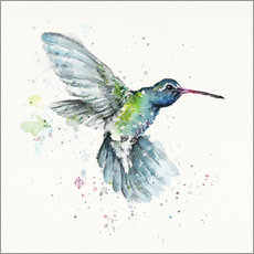 Muursticker  Hummingbird flurry - Sillier Than Sally