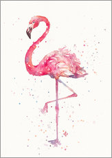 Gallery print  Sierlijke flamingo - Sillier Than Sally