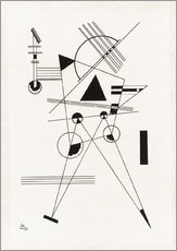 Gallery print  Lithograph I - Wassily Kandinsky