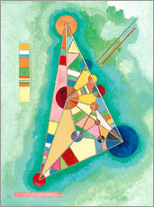Gallery print  Variegation in the triangle - Wassily Kandinsky