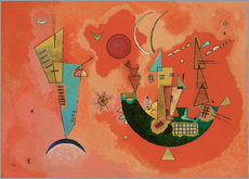 Muursticker  With and against - Wassily Kandinsky