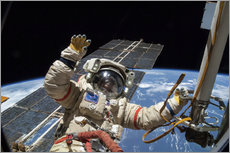 Gallery print  ISS spacewalk - NASA