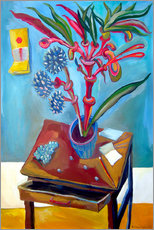 Gallery print  Table and plant - Diego Manuel Rodriguez