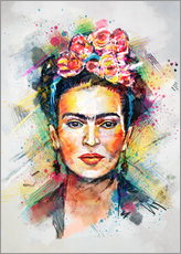 Muursticker  Frida Flower Pop - Tracie Andrews