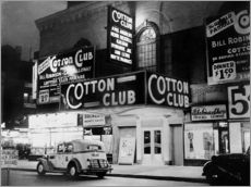 Muursticker  Cotton Club in Harlem, New York