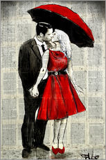Gallery print  She was wearing red - Loui Jover