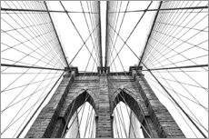 Gallery print  Brooklyn bridge