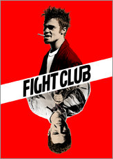 Muursticker  Fight Club - Paola Morpheus