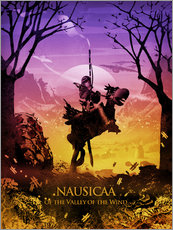 Gallery print  Nausicaä of the Valley of the Wind - Albert Cagnef
