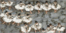Muursticker  The ballet - Pierre Bonnard