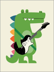 Gallery print  Crocstar - Andy Westface