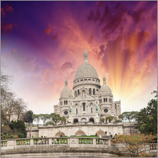Gallery print  Sacred Heart Cathedral in Montmartre