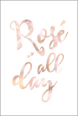 Gallery print  Rosé all day - Ohkimiko