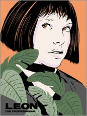 Muursticker  Mathilda, Leon the professional - 2ToastDesign