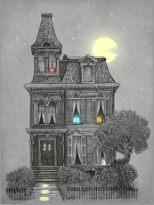 Gallery print  Haunted house - Terry Fan