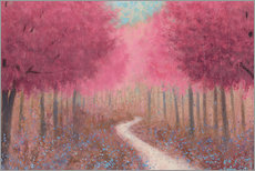 Gallery print  Forest road in the spring - James Wiens
