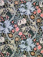 Gallery print  Golden Lily - William Morris
