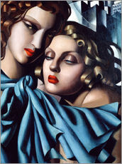 Muursticker  The girls - Tamara de Lempicka