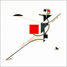 Gallery print  the new man - El Lissitzky