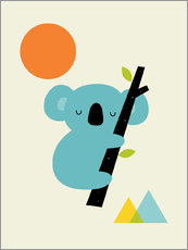 Gallery print  Little dreamer - Andy Westface