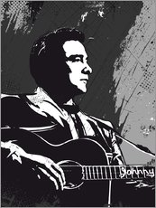 Gallery print  Johnny Cash - 2ToastDesign