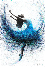 Acrylglas print  Dance in the ocean mist - Ashvin Harrison