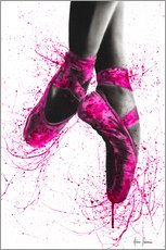 Hout print  Pretty in Pink - Ashvin Harrison