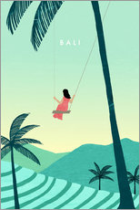 Gallery print  Bali Illustration - Katinka Reinke