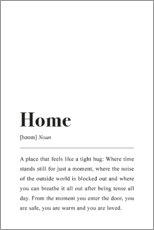 Hout print  Home Definition - Pulse of Art
