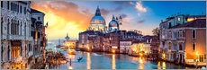 Acrylglas print  Venice in the evening - Art Couture