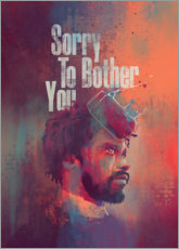 Gallery print  Sorry To Bother You - Fourteenlab