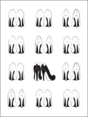 Premium poster High Heels Collection